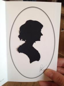 Mrs F-'s silhouette